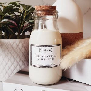 soy wax kitchen candle