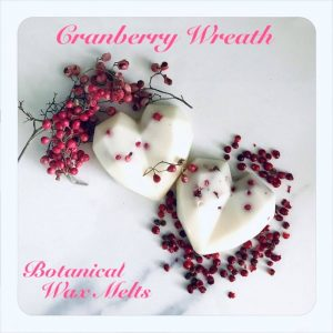 Botanical Cranberry wax melts