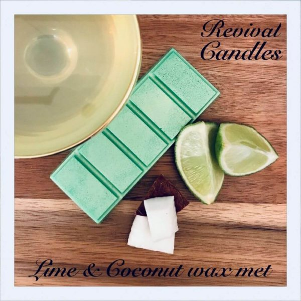 lime coconut wax melts