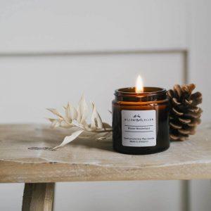 winter wonderland amber jar