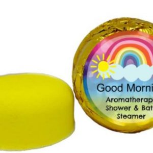 good morning shower steamer