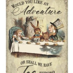 alice vintage wall sign