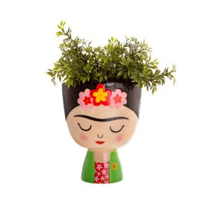frida kahlo head planter