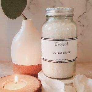 soothing aromatherapy bath salts