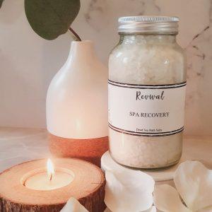 spa recovery bath salts